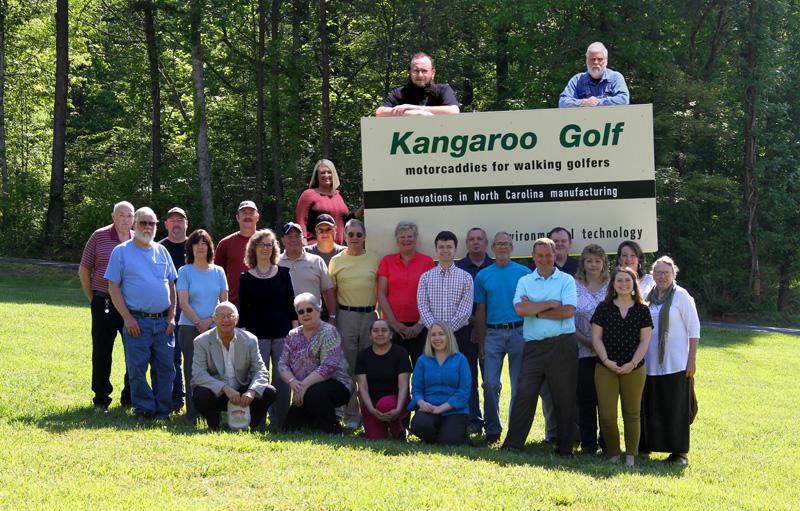 old photo of Kangaroo employees